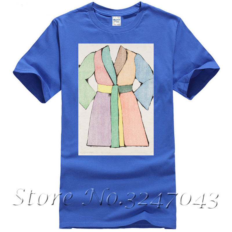 The woodcut bathrobe T Shirt by Jim Dine Mens T-shirt