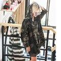 Moda Killa Wweatshirts Vestido de Moletom Com Capuz Mulheres Hoodies Algodão Mulheres Vestido de Mangas Compridas Com Capuz Camo Solto Casual Vestidos Longos