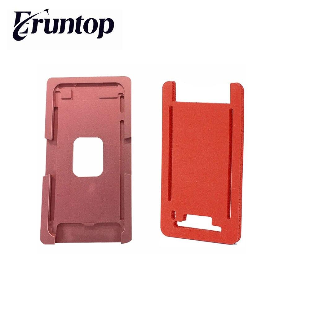 1set Precision aluminium mould For iphone 6G 6s 4.7 Laminator mold metal for the front glass with frame Location for oca user кальсоны user кальсоны