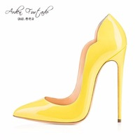 2017 Fashion Red Bottom Extreme High Heels Shoes For Woman Shoes 12cm Party Shoes Thin Heels