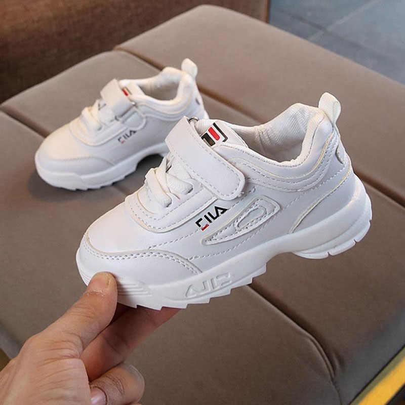 b588e681d Крутая новая Брендовая обувь Hook & Loop детская повседневная обувь все  сезоны резиновые детские кроссовки крутые