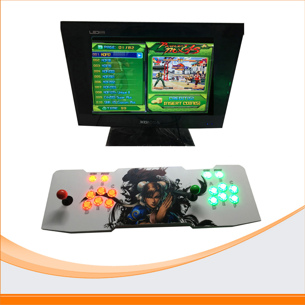 Pandora Box 4 Jamma 680 Games Board 2 Player Arcade Joystick Controller Kits Suitable for LCD TV Games