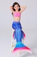 Girl Mermaid Tail Custome Baby Girl Kids Mermaid Tail Fancy Dress Cosplay Halloween Costume