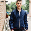 TANGNEST Men's Thin Jacket 2017 New Arrival Men Oversized Casual Jackets Male Fashion Autumn Windbreaker Coat M-4XL MWJ2078