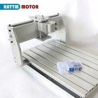 ЕС доставки! 3040 ЧПУ фрезерный станок механический комплект ЧПУ Алюминиевый сплав рамка шариковый винт для DIY пользователя от мотора RATTM