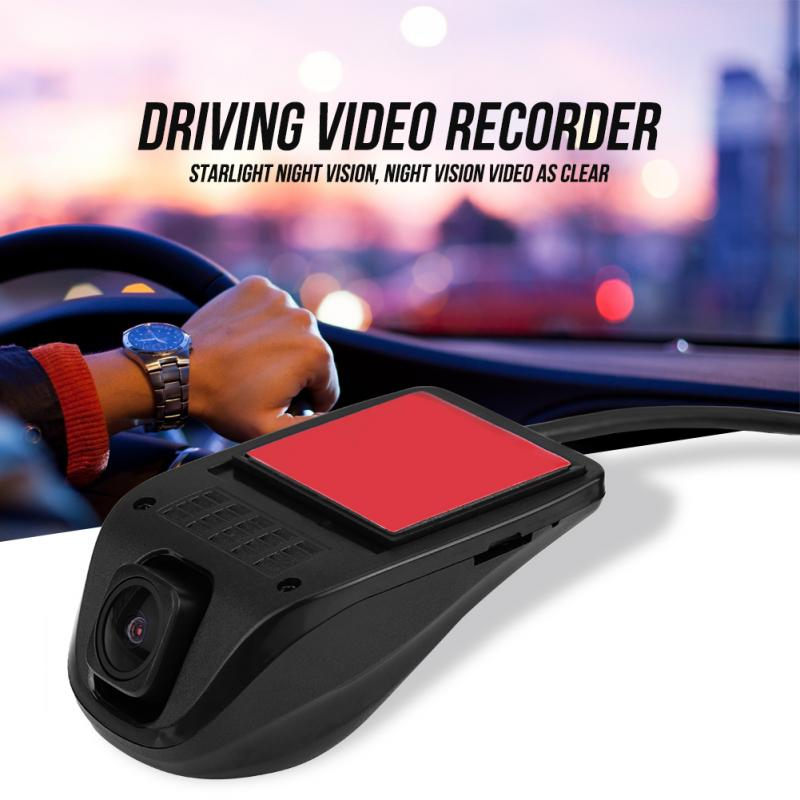 1080P HD USB Camera Car DVR Video Driving Recorder with Night Vision for Android System Car Accessories Car Dash Camera q1 1080p adas car dvr camera usb dvr camera for android 4 4 5 1 1 6 0 car pc car dvr camera driving recorder