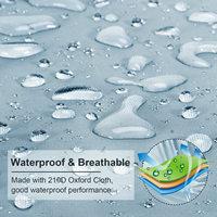 waterproof rain 14-24ft For Universals Heavy Boat Covers 201D Waterproof Dustproof Trailerable Pontoon Boat Cover Coat Protect Rain UV  D45 (5)