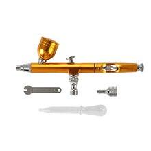 ポータブルミニスプレーポンプペンセット空気圧縮機用アートペインティングタトゥークラフトケーキスプレーモデル美しいエアブラシキット