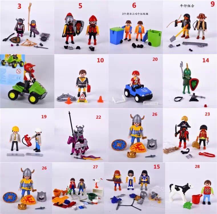 40 Style Original Genuine Germany Playmobil Toy Police
