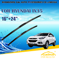 "Escovas Para HYUNDAI IX35 (2010-) 2011 2012 2013 2014 2015 Car Windscreen Windshield Wiper Wiper Blade 24 ""+ 16"" carros estilo"