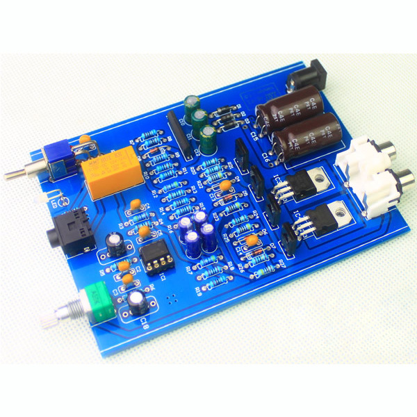 DIY HIFI Fever Amp Headphone Amplifier Kit Free Shipping