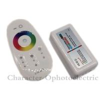 цена на 5pcs 2.4G RF Wireless full touching screen LED RGB Remote Controller 12V/24V WiFi Compatible for 5050/3528 RGB led strip