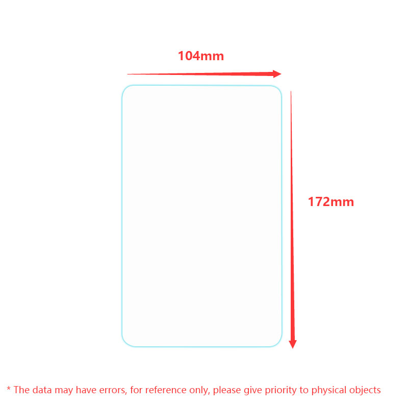 9H Premium Explosion Proof Tempered Glass Screen Protector Protective Film For Apache A701 7 inch Tablet