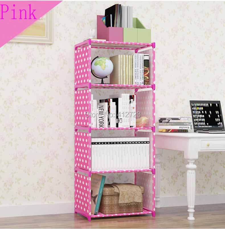 Creative shelf storage bookcase book shelf bookrack Strengthen ...
