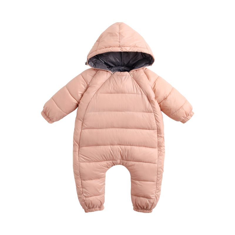 купить Winter Clothes NewBorn Onesies Baby Outerwear Girls Coat Boys Candy Color Thin And Light Down Coats Baby Snowsuit 9-24 mans по цене 1840.69 рублей