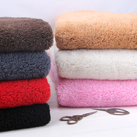 Lamb Wool Thick Lining Cloth Clothing DIY Cotton Velvet Swan Coral Cashmere Cloth