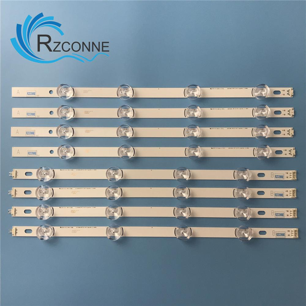 LED Backlight strip For LG 40 TV 40LF630V SVL400 HC400DUN VCKN1 211X VCKN5 214X 40LH5300 INNOTEK