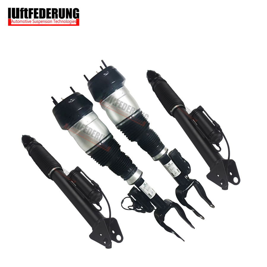 Luftfederung 4PCS Mercedes W166 CDI 4MATIC Front +Rear Air Spring With ADS Suspension Air Spring 1663201413(1313) 1663200130