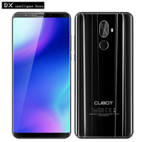 CUBOT X18 PLUS 5.99 inch FHD+ Android 8.0 Fingerprint Mobile Phone MTK6750T Octa Core 4GB+64GB 20MP Dual Camera 4000mAh Face ID
