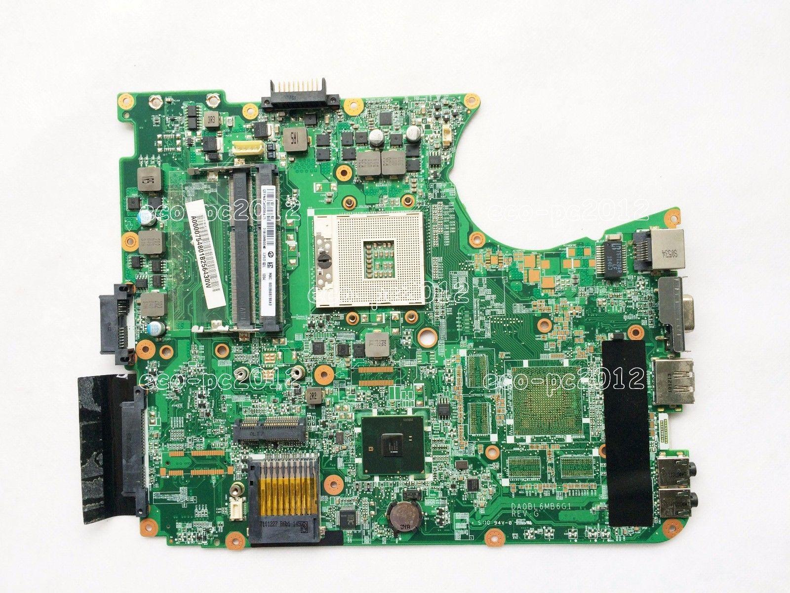 SHELI For Toshiba Satellite L655 L650 Laptop motherboard A000075480 hm55 ddr3 31BL6MB0010 DA0BL6MB6F0 integrated graphics card