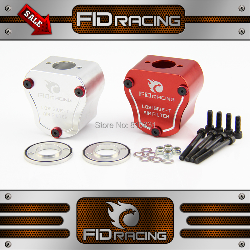 FID 0-90 adjustable Air filter box FOR LOSI 5IVE-T MINI fid automatically adjustable shock absorber rod for losi 5ive t