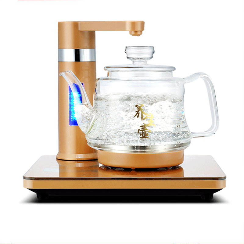 Electric kettle fully automatic water electric kettle is a key intelligent pumping kettle free shipping automatic water supply electric kettle tea set pumping furnace