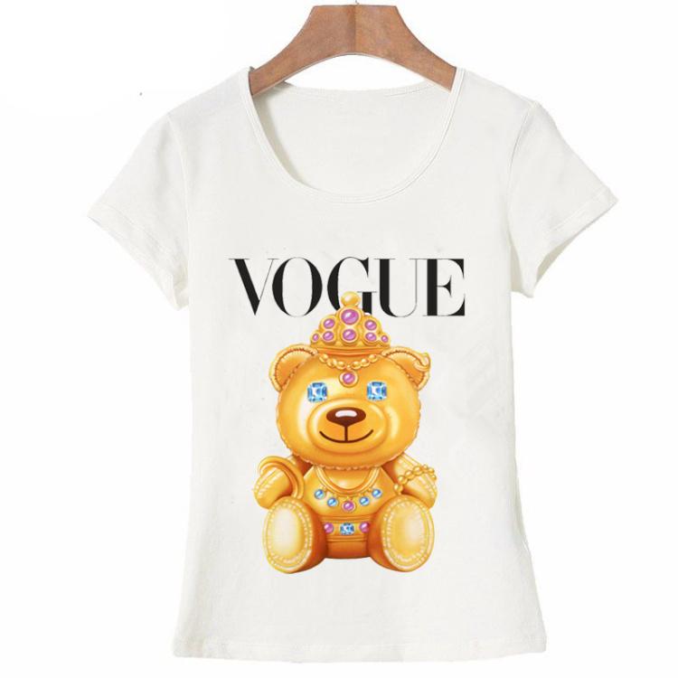 HTB1HBmVQFXXXXX0XXXXq6xXFXXX3 - Summer fashion women t-shirt VOGUE punk princess print T Shirt