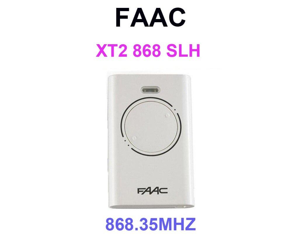 Tor Garage Tür Hand Fernbedienung für FAAC XT2 868 SLH 868,35 mhz