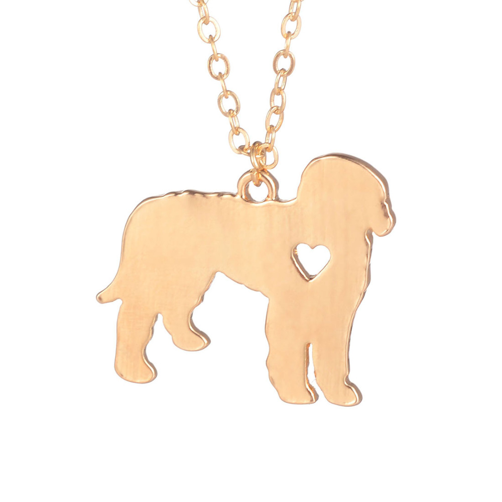 Gold Silver 1pc Goldendoodle Necklace Goldendoodle Dog Pendant Custom Dog Necklace Dog Jewelry Pets Christmas GIfts for lovers