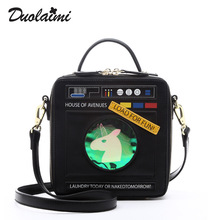 New fashion leisure ladies small package personality digital packet origian bag women handbag messager bag