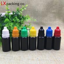Bộ 100 Miễn Phí Vận Chuyển 10 Ml 0.35 Oz Nhựa Trống Thả Chai Tinh Chất Parfume Chất Lỏng Trống Cosnetic Hộp Đựng