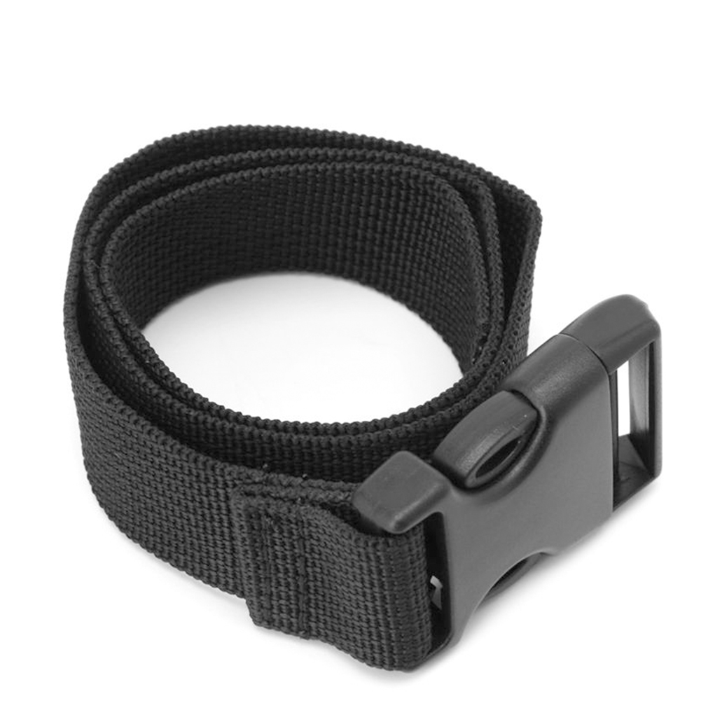 Outdoor Luggage Bag Belt With Quick Release Buckle Tied Band Fixed Belt Mattress Long Black Lash Nylon Strap  Hot Sale