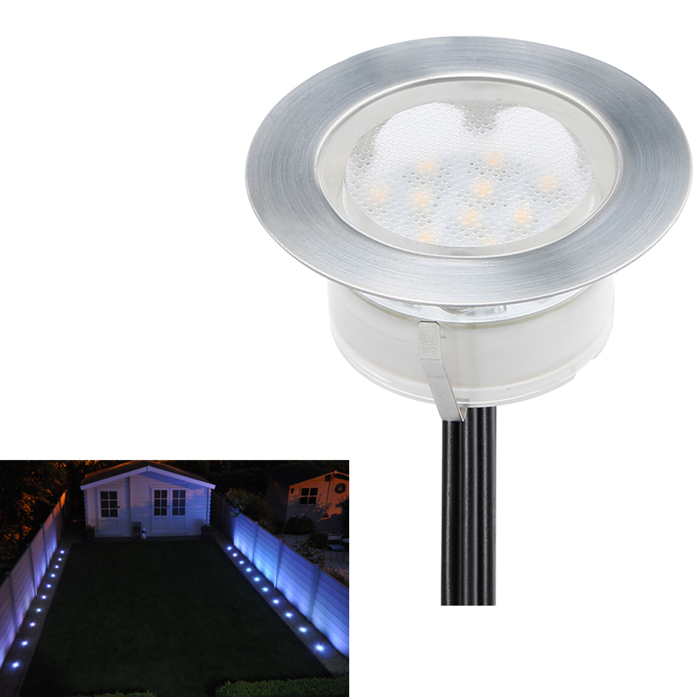 DHL Free 20pcs 2.5W 12V Low Voltage LED Underground Light Decoration Garden  Park Driveway Patio