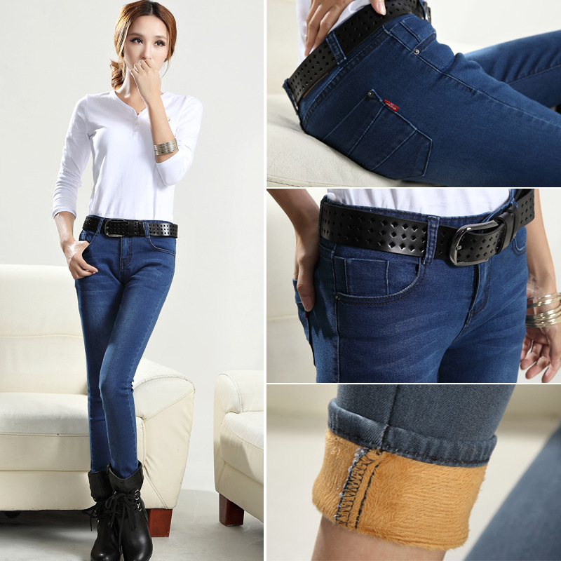 Online Buy Wholesale velvet bootcut jeans from China velvet ...