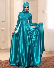 Jark Tozr Custom Made Appliques Beading Long Sleeve Satin Muslim Evening Dresses With Hijab 2017 Vestido Longo Aliexpress Login
