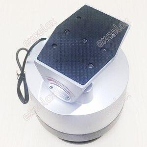Image 2 - ヘビーデューティ 12 キロ負荷電動パンチルトスキャナー自動ptz水平垂直回転屋外防水cctvカメラサポート