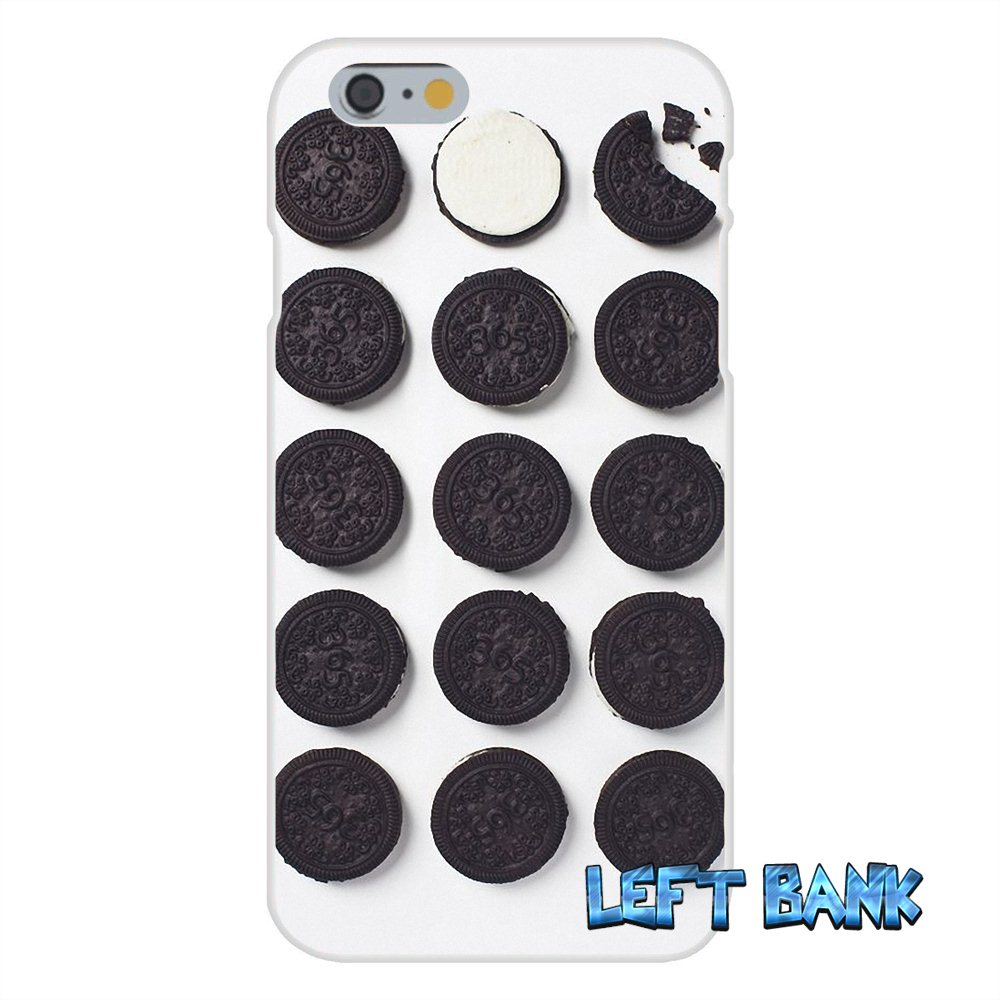 US $0 99 |For Samsung Galaxy Note 3 4 5 S4 S5 MINI S6 S7 edge Enjoy Oreo  Cookie Milkshake New Soft Silicone TPU Transparent Cover Case-in  Half-wrapped
