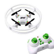 DWI DOWELLIN D1 Mini Drone 2.4Ghz 4CH 6-Axis Gyro RC Quadcopter UFO Aircraft Anti-collision Drones For Beginners Kids D1 White(China)
