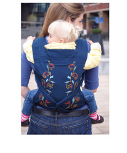 Very convenient 3 in 1 baby front, back and hip carrier
