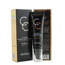 Cc крем макияж жидкая основа корректор увлажняющий отбеливающая косметической макиллаж Y7
