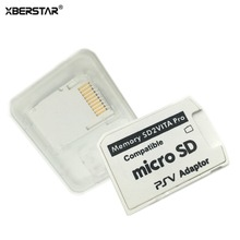 XBERSTAR Version 5.0 SD2Vita For ps vita card PSVita Game Card Micro SD Adapter For PS Vita 1000/2000 3.60 System 256GB
