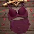 New 2016 Brand Underwear Vs Secret Women Bra Set Female Sexy Seamless Bra And Panty Set Plus Size Fashion Push Up Bra Lingerie