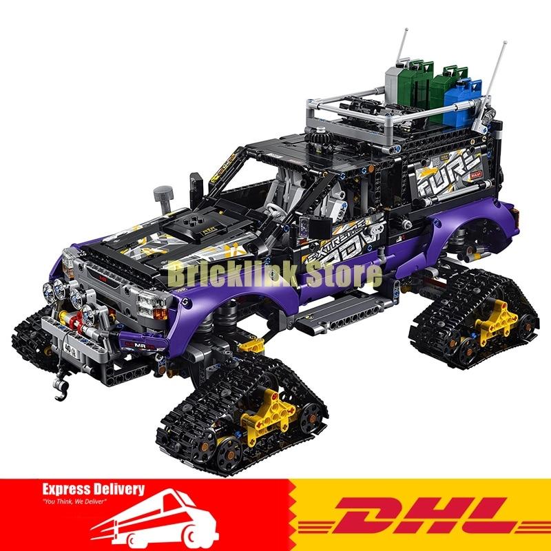 Lepin 20057 2050Pcs Genuine Technic Mechanical Series The Ultimate Extreme Adventure Car Set 42069 Building Blocks Bricks Toys