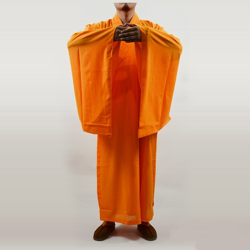 Buddhist Monk Robes Shaolin Monk Robes Traditional Buddhist Monk Clothing Shaolin Monk Clothing High Quality  AA873