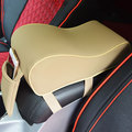 Car Vehicle Interior Armrest Box PU Leather Top Mat Pad Decor Universal