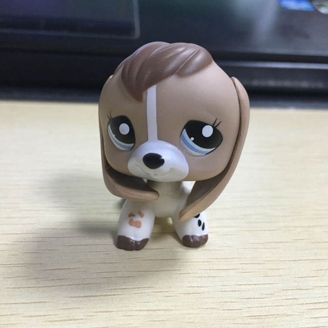 Lps Collection Figure 2207 Tan White Beige Brown Beagle Dog Pet