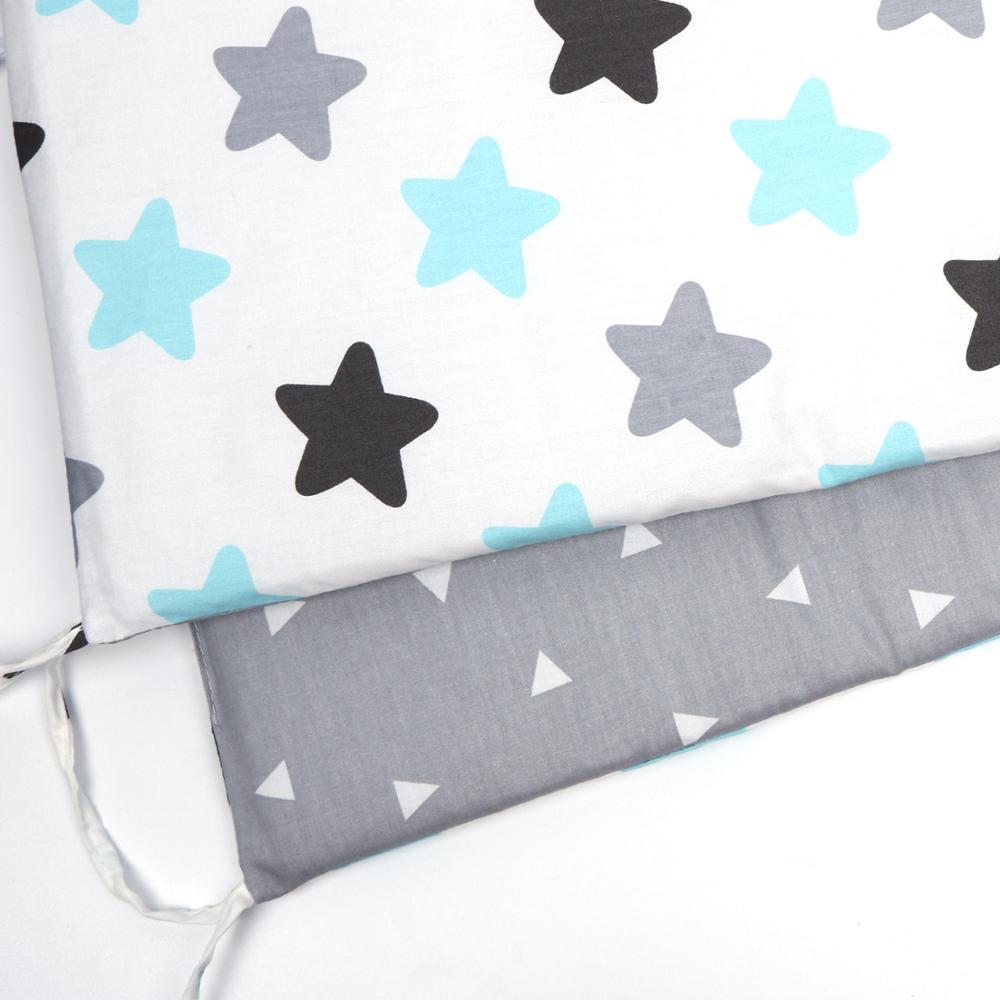 Пересечение границы детское ограждение для кровати кровать вокруг ребенка анти-столкновения хлопок Съемный и моющийся Детская кровать бампер кроватка