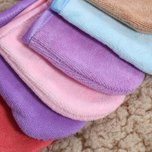 5 Colors Reusable Microfiber Facial Cloth
