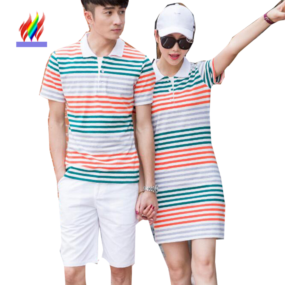 Korean Matching Couple Clothes For Lovers Summer Holiday ...