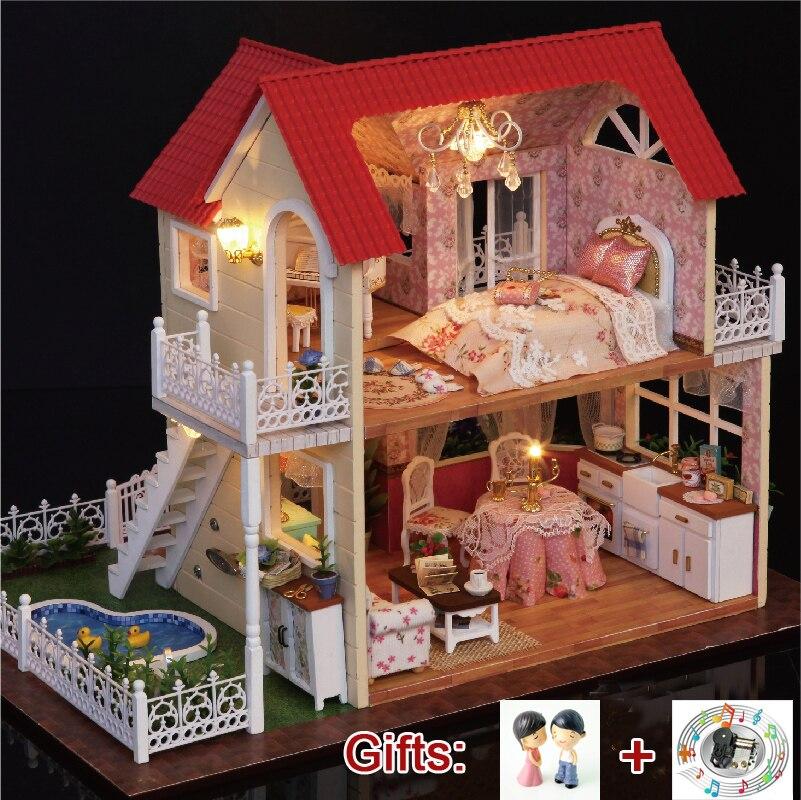 interrupteurs Maison de poupées miniatures